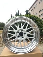 4 Nova 18×8. 5 rodas Jantes ET 35mm CB 73.1mm jantes De Liga Leve Jantes W882