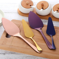 Hot Rose Pizza Cutter Spatulas Pie Shovel Knife 304Stainless Steel Baking Pizza Tool Western Knife Turner