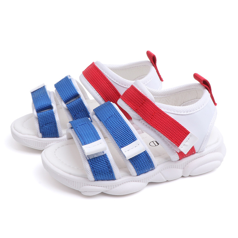 New Summer Children Casual Sandals Boys And Girls Beach Non-slip Breathable Patchwork Childrens