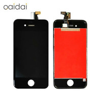 LCD Display Touch Screen For Iphone 4 4s Mobile Phone Digitizer Assembly Replacement Parts With Tools
