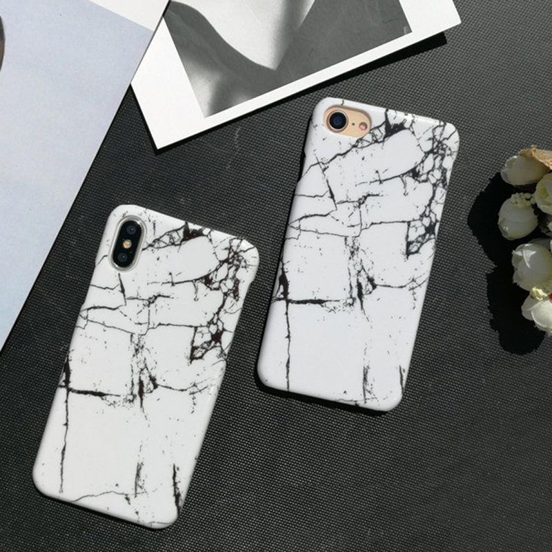 Hot Sell Marble Stone Phone Cover For iPhoneX 7 8 6 6s