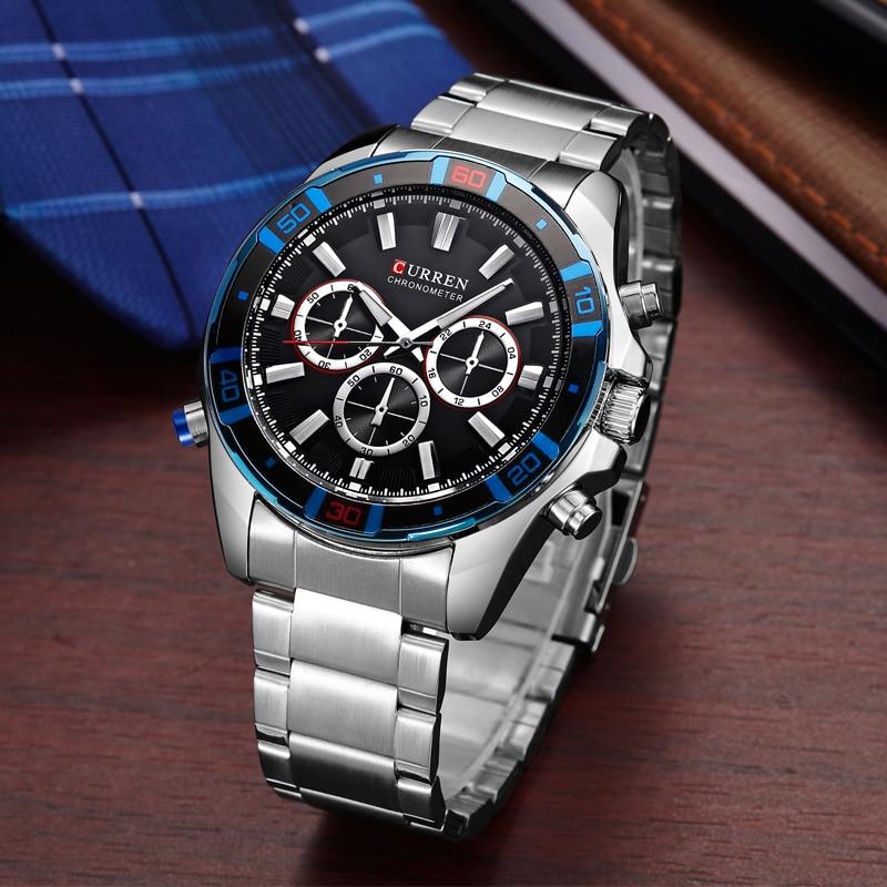New Luxury brand Curren casual women dress watches Men Fashion Sport Watches Quartz Clock Military watches women Wristwatch 8184 цена и фото