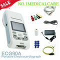 Add  5 five  roll paper CONTE ECG90A Handheld 12-lead ECG  Portable ECG machine equipment machine medical diagnosing tool