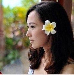 36 Pcs Lote Colore Hawai Frangipani Fleur Nuptiale De Soiree De