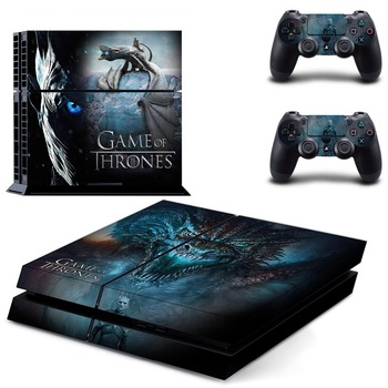 PS4 Skin Game of Thrones Sticker for Sony PS4 PlayStation 4 and 2 controller skins