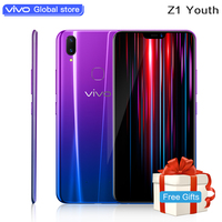 Vivo Authorize Vivo Z1 Youth Mobile Phone 4G LTE Android 8.1 SDM626AIE Octa Core 6.26 Face Wake AI Support Google Network