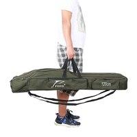 FDDL Cần Câu Bag Fishing Folding Bag Xanh 3 Lớp Lure túi 110 cm 120 cm 150 cm Câu Cá Giải Quyết Bag Trường Hợp Pesca Vận Chuyển Miễn Phí