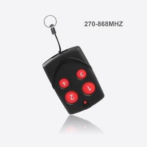 Image 3 - Kebidu Copia multifrecuencia RF 270 868mhz, código para Control remoto para puerta de garaje, duplicador, mando a distancia de código fijo