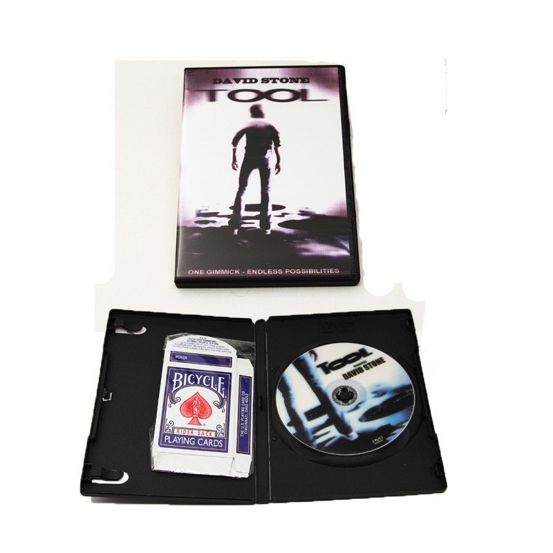 1 set Best Strumento di carta (Espediente + CD) da David Stone trucchi di magia mentalismo stage close up magic puntelli illusioni commedia di strada 82049