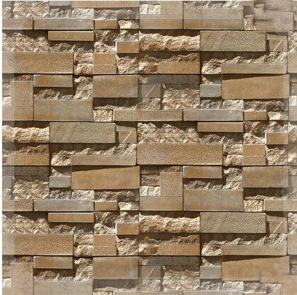 3d de piedra pared de ladrillo gris papel papel pintado de for Papel pintado de piedra