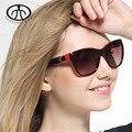 Novas Mulheres Da Moda Óculos de Sol Lentes Polarizadas com Quadro PC óculos de Sol Femininos