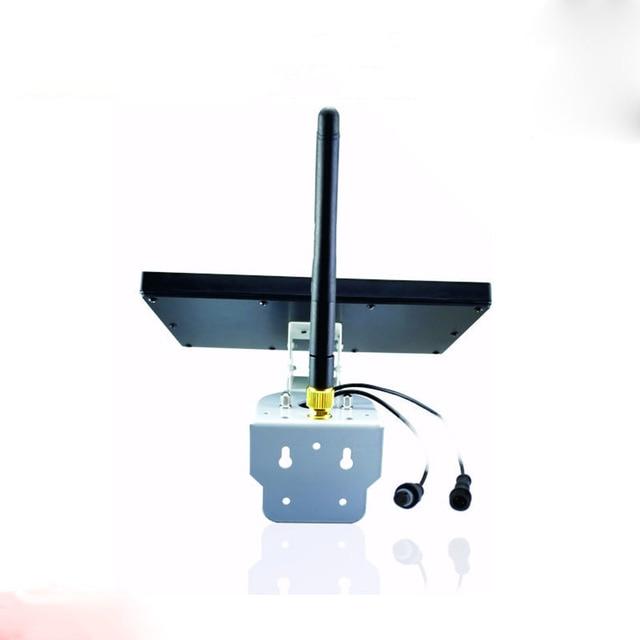 Wireless waterproof battery power ip camera solar camera 5