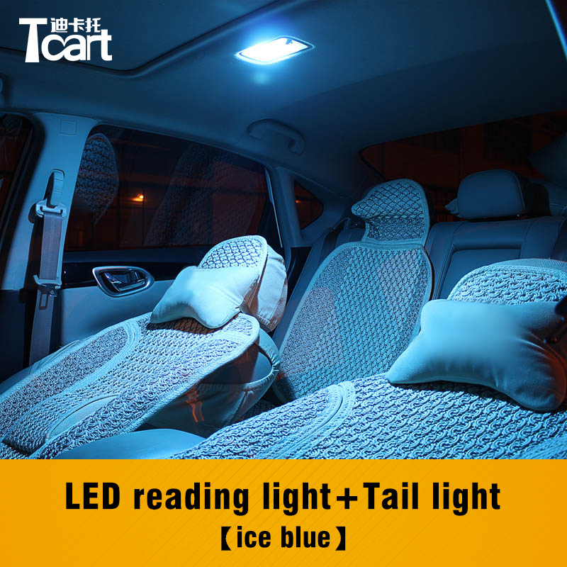 Tcart Canbus T10 4014 Auto Led Interior Reading Lamps Car Tail Trunk Light Bulbs