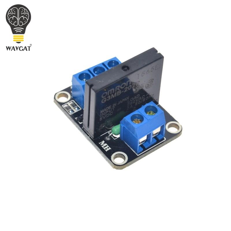 Wavgat 5v Relay 1 2 4 8 Channel Omron Ssr High Low Level Solid State Relay Module 250v 2a For Arduino Integrated Circuits Electronic Components & Supplies