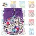 Comercio al por mayor Pororo 10 Unids/bolsa AIT Reutilizables Pantalones de Entrenamiento Pañal Merries Insertar Luier Fralda Pañales PUL Bebé Pañal de Tela de Algodón