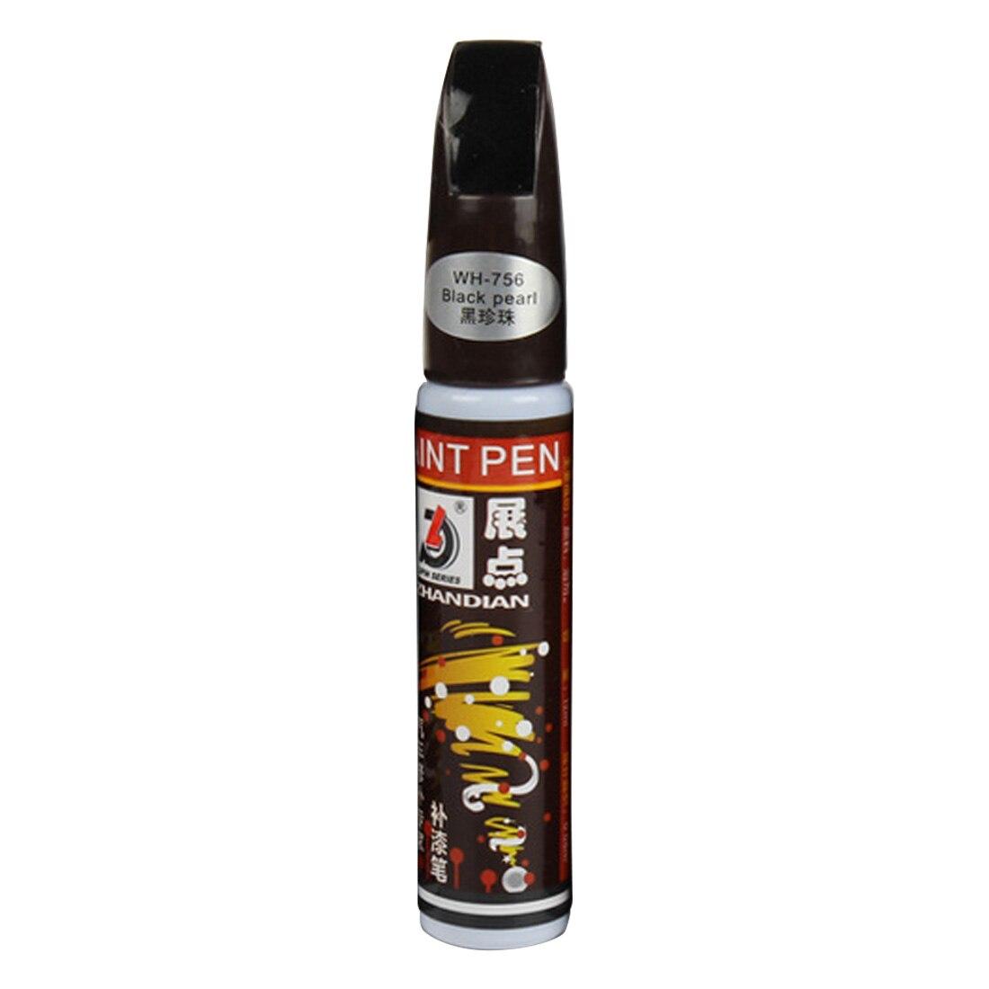 Новая Автомобильная сенсорная ручка, водостойкая удаляющая аппликатор, утилита, профессиональная автомобильная куртка, очищающая от царапин, для ремонта, окрашивающая ручка, сенсорная - Цвет: black Pearl