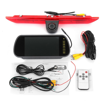 Car Brake Light Rear View Camera for Ford Transit Custom 2012-2015 reverse camera backup camera HD night vision Waterproof