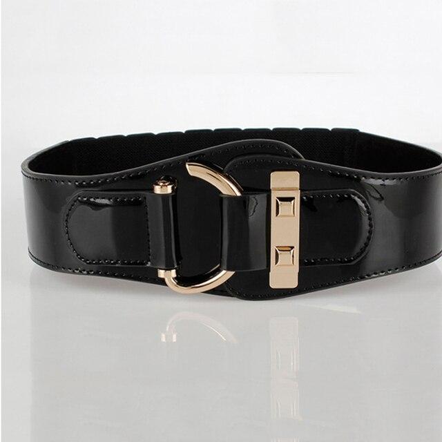 Blet для женщин упругие кожаные ремни платье ремень модельер пояс черный цвет бесплатная доставка