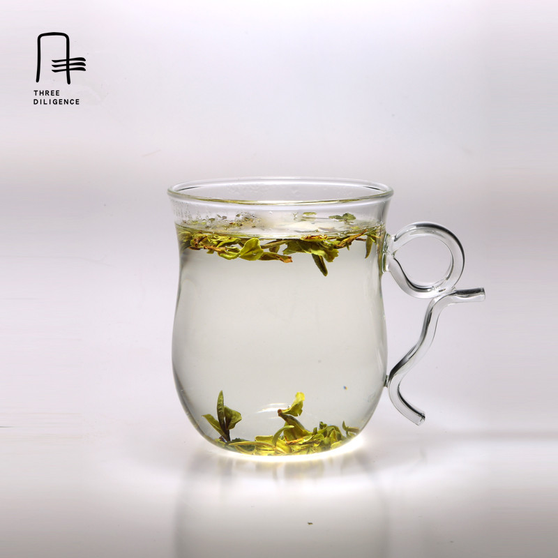 400ml Heat Resistant Glass Teaware Herbal Floral <font><b>Tea</b></font> Mug Heat Insulation Filter <font><b>Cup</b></font> <font><b>tea</b></font> infuser short glass bottle