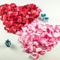 Wholesale Wedding Rose Petals 1000pcs/lot Decorations Rayon silk flowers polyester wedding rose New Fashion 2016 artificial
