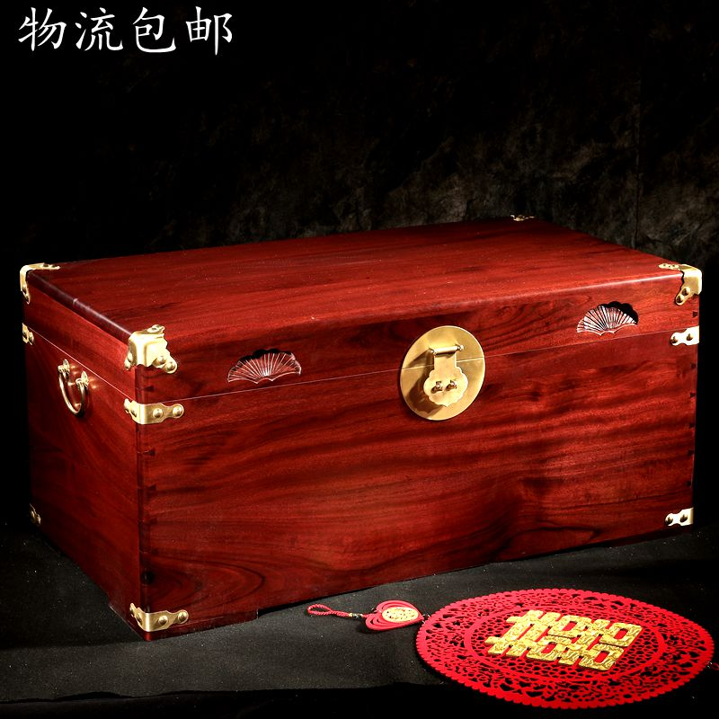 Camphor деревянная коробка, твердая деревянная Свадебная коробка, старинная камфорная древесина, резные цветы, дюбные коробки, хранение брака,