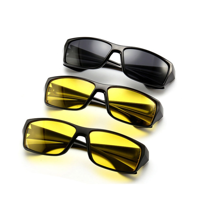 Night Vision Sunglasses Night Driving Enhanced Light Glasses Polarized Fashion Sunglasses