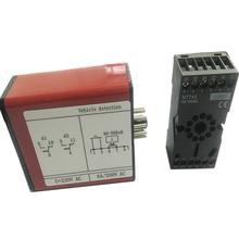 DC12V/ 24Voultage Automatic Gate Red Traffic Inductive Loop Vehicle Detector Signal Control