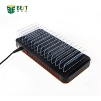 USB Charging Station 15 Port Charger Station Multi Device Charger Universal for iPhone Cell Phone android Tablet