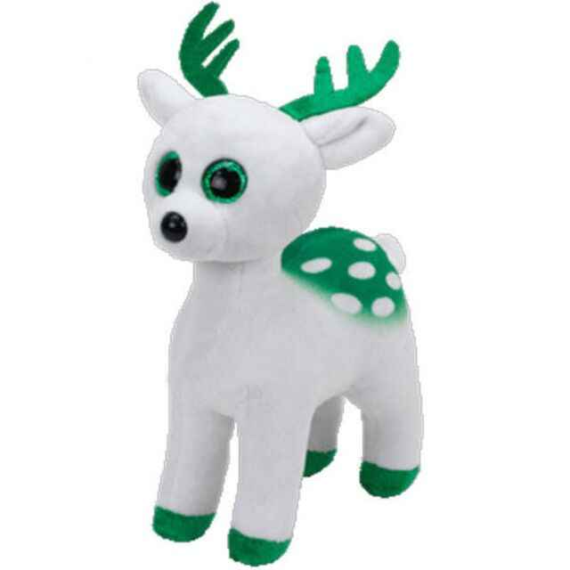488126e804a ... Ty Beanie Boos Filled and Stuffed Animal Purple Turtle Rabbit Reindeer  Toy Doll Label 6