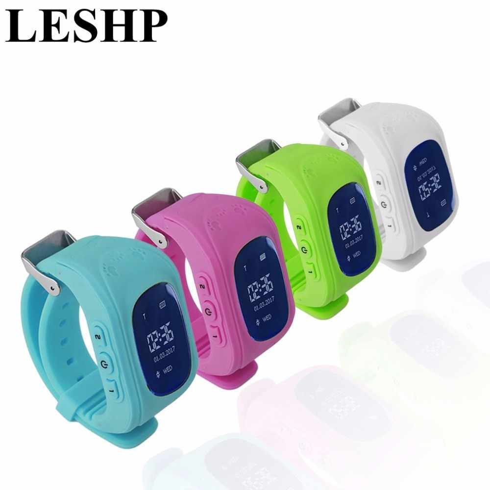 Q50 Fashion Children Kids Smart Watch Accurate Locator Tracker Emergency Anti-Lost Smart Wrist Watch For Android
