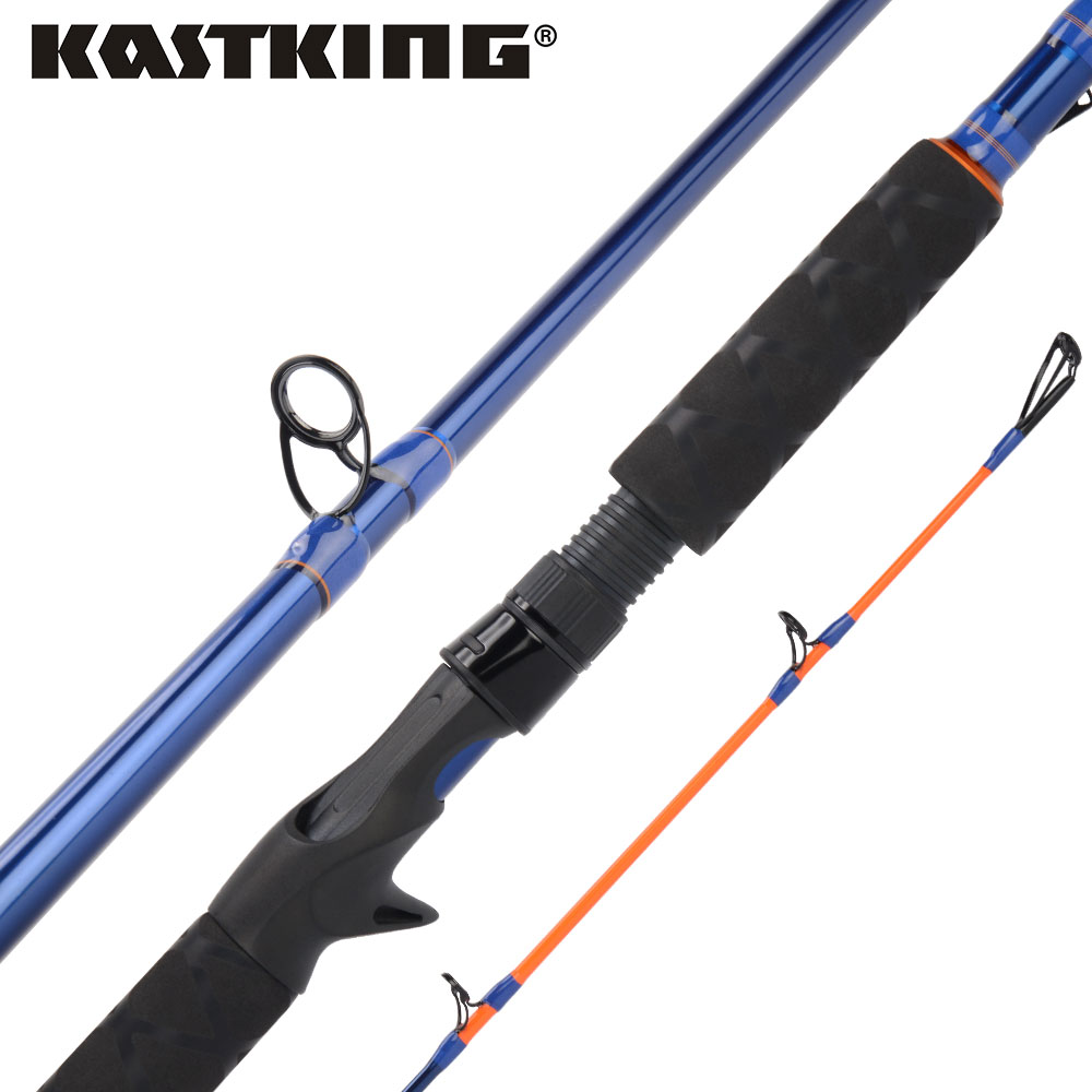 KastKing 3 Pieces Kasnake Casting Fishing Rod for Snakehead in Fresh Water with 24 30 Ton
