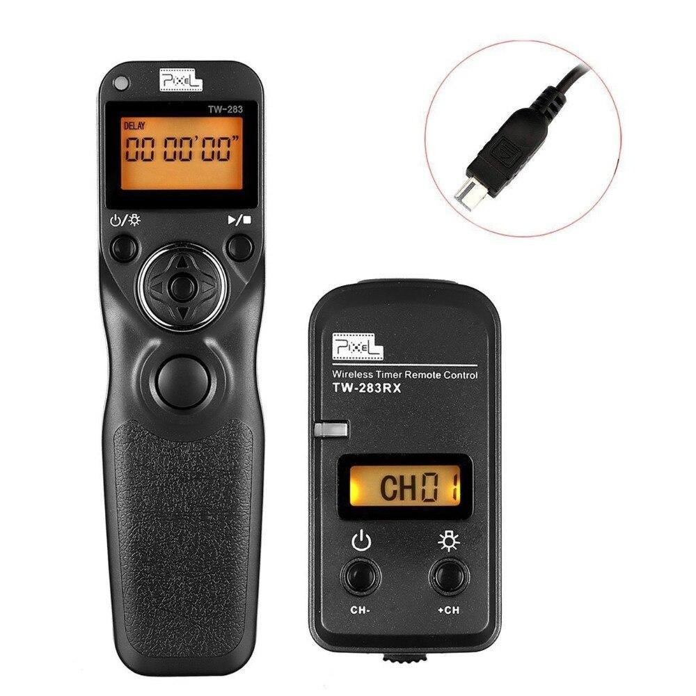 Pixel TW-283/DC2 Sans Fil Bluetooth Déclencheur À Distance Minuterie Contrôle Pour Nikon D3200 D3300 D90 D5100 D5200 D7100 D7000 D7200