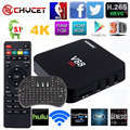 Chycet V88 CAIXA de TV Android caixa de tv Android 5.1 1G/8G WiFi 4 K 16.0 Carregado add-ons 1080 p set top box CAIXA de TV Inteligente + teclado