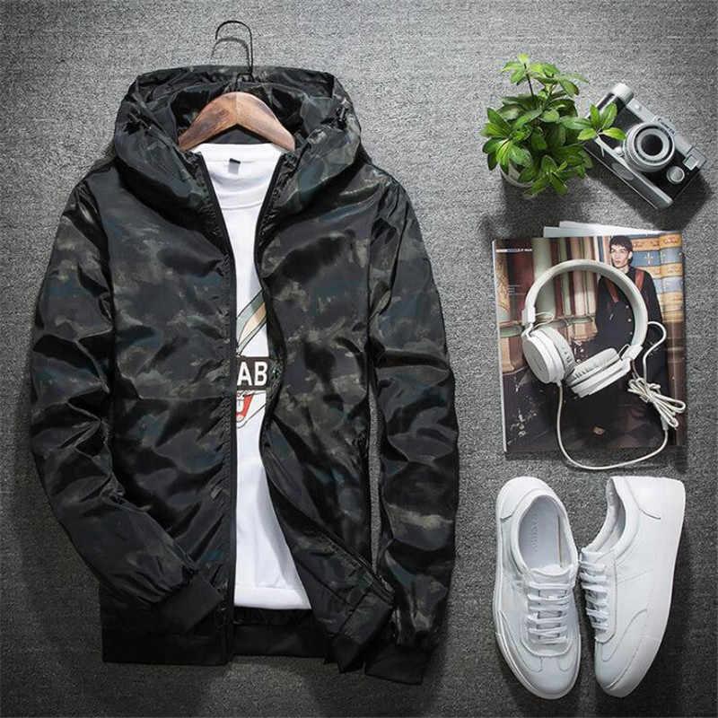 004b9a94f14bc ... New Camouflage Jacket Men Women Plus Size Camo Hooded Windbreaker Jackets  Military Canvas Jacket Parka Fashion ...