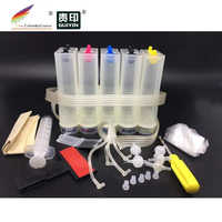 universal 5 color CISS continuous ink system kit with accessaries cheapest shipment cost