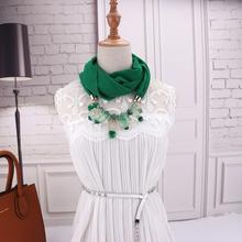 New Fashion Young  Attractive style multicolor necklace pendant scarf fashion exquisite jewelry accessories