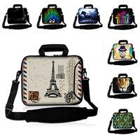 Eiffel Tower 12 Notebook Messenger Waterproof Computer Sleeve Handbag For Macbook Air Chuwi Hi12 11 6