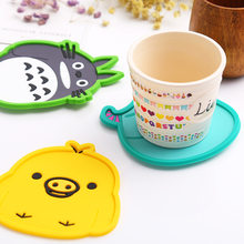 Antiskid Cup Mat Coasterl Cute Animal cushion Continental Heat Insulation Mat Table Bowl Easy To Wash OM7004