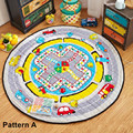 Multi-Function Baby Lovely Cartoon Figures Animals Flying Chess Pattern Play Mats As Buggy Bag Crawling Rug Carpet Toys For Kids