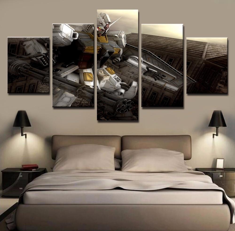 Anime Wall Art popular gundam wall art-buy cheap gundam wall art lots from china
