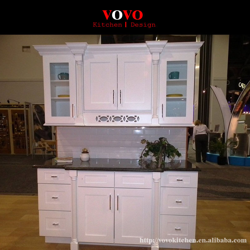 Best Selling Europe Style Solid Wood Kitchen Cabinets-in ...