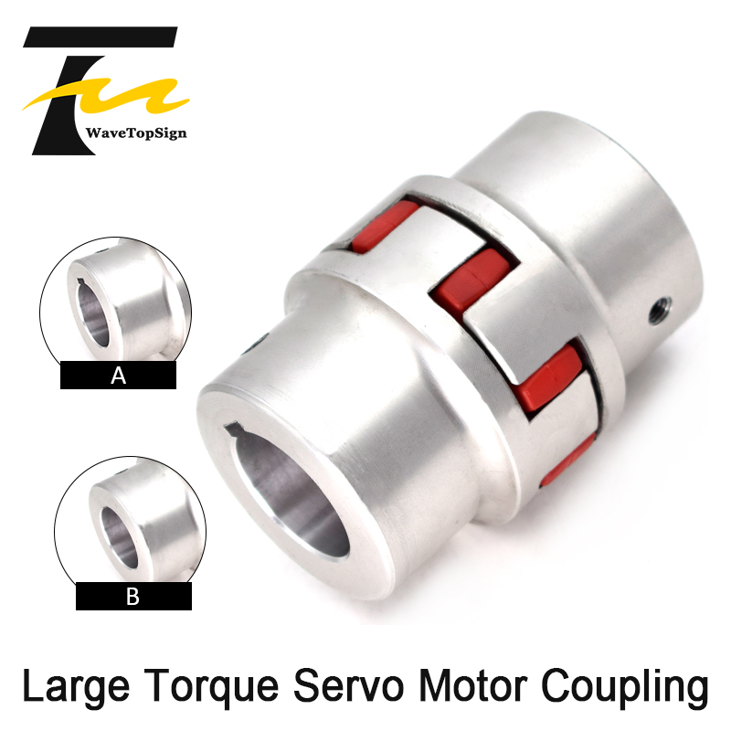 WaveTopSign Large Torque Servo Motor <font><b>Coupling</b></font> High Torque Aluminum material light weight good quality image