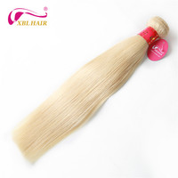 XBL HAIR #613 Blonde Hair Bundles Straight Human Hair Extension 1pc/lot Remy Brazilian Hair Weave Free Shipping
