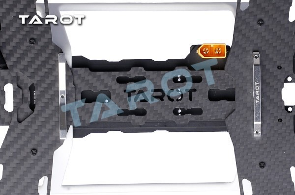 ФОТО F15862 TAROT Mini 300 Carbon Metal Quad copter main frame Kit Built-in PCB board TL300A FS