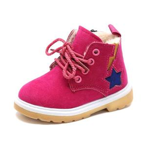 Child Snow Boots Shoes Boys Girls Leather Boots Children Kids Baby Toddlers Shoes For Boys Girls Sneakers Shoe