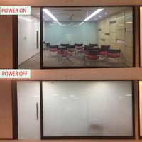Electric Self adhesive PDLC Film Smart Glass Window Door Tint Smart Film 12x6 Hot Sale
