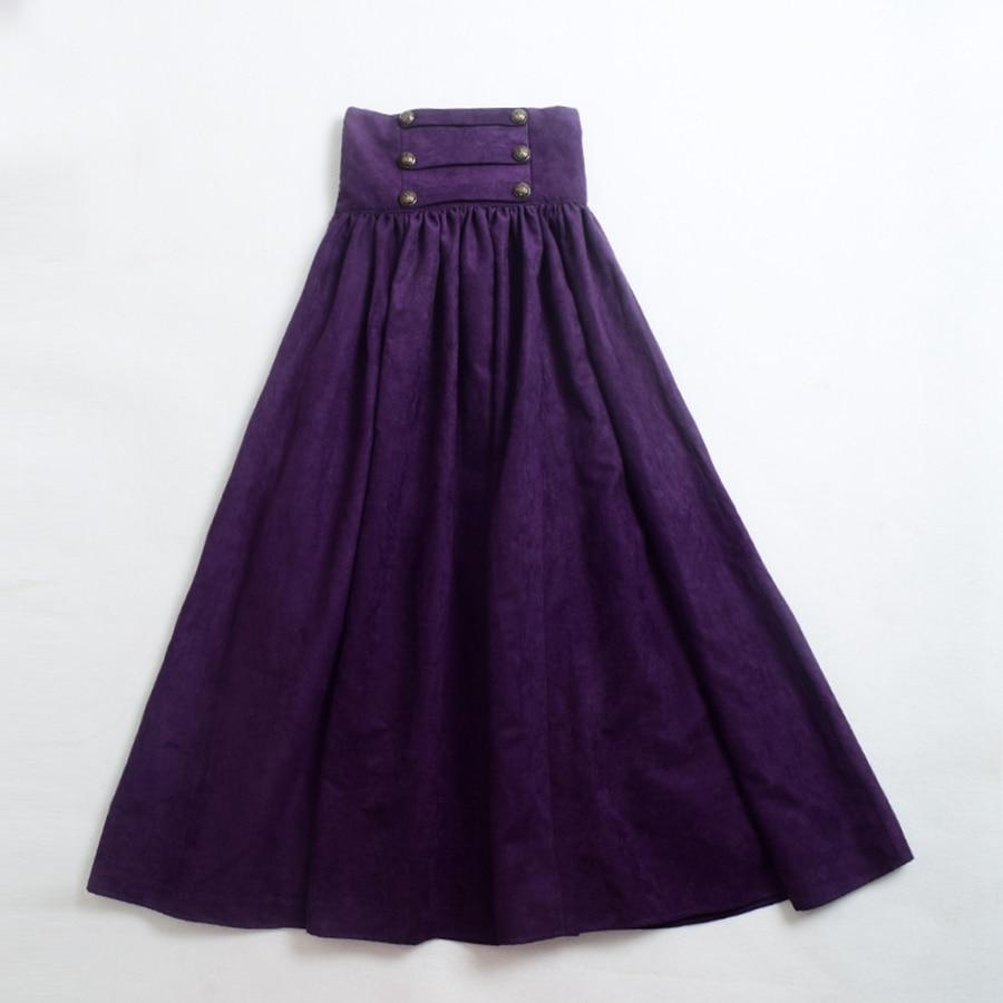 Aliexpress.com : Buy Vintage Steampunk Skirt Victorian Gothic High ...