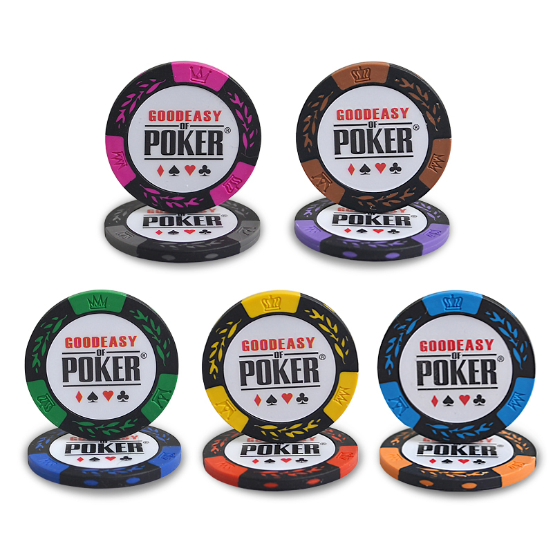 10pcspack clay no face value wheat chips poker gambling texas holdu0027em baccarat - Clay Poker Chips