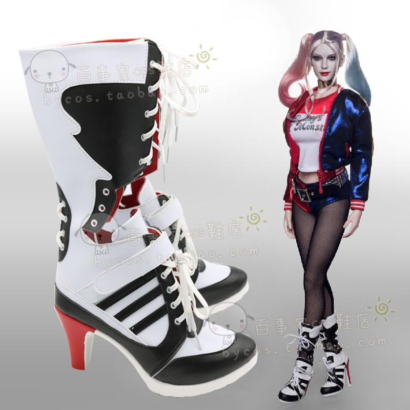 botas de harley quinn. Black Bedroom Furniture Sets. Home Design Ideas