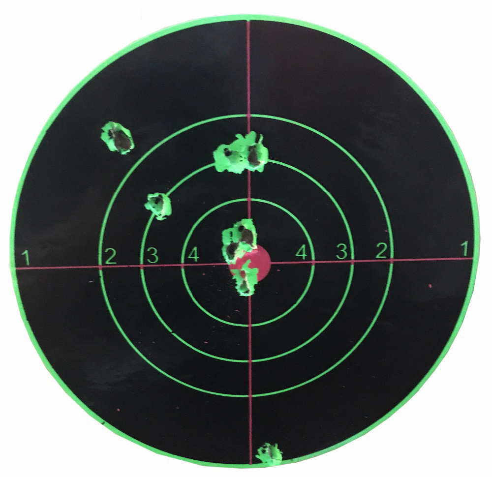 Image 4 - Target Shooting 14 X 14CM Splash Flower Target 5.5 Inch Adhesive Reactivity Shoot Target Aim for Gun / Rifle / Pistol Binders-in Paintball Accessories from Sports & Entertainment